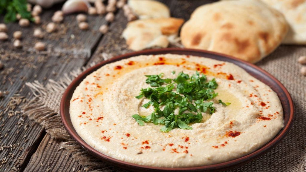 Receta de Hummus de Nutrición Donostia, especialista en dietética y nutrición en san sebastián