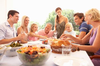 Como preparar y afrontar las comidas familiares para comer bien y saludable