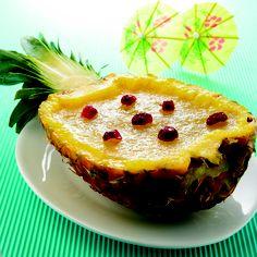 receta de gelatina casera de pina. Receta de nutricion donostia, un postre saludable de tu dietista de san sebastian