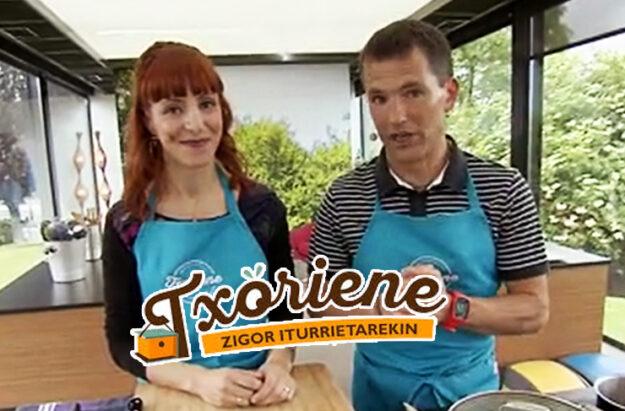 La consulta dietista y nutricionista de San Sebastián, Nutricion Donostia, en el programa gastronomico txoriene de EITB para hablatr de nutrigenetica